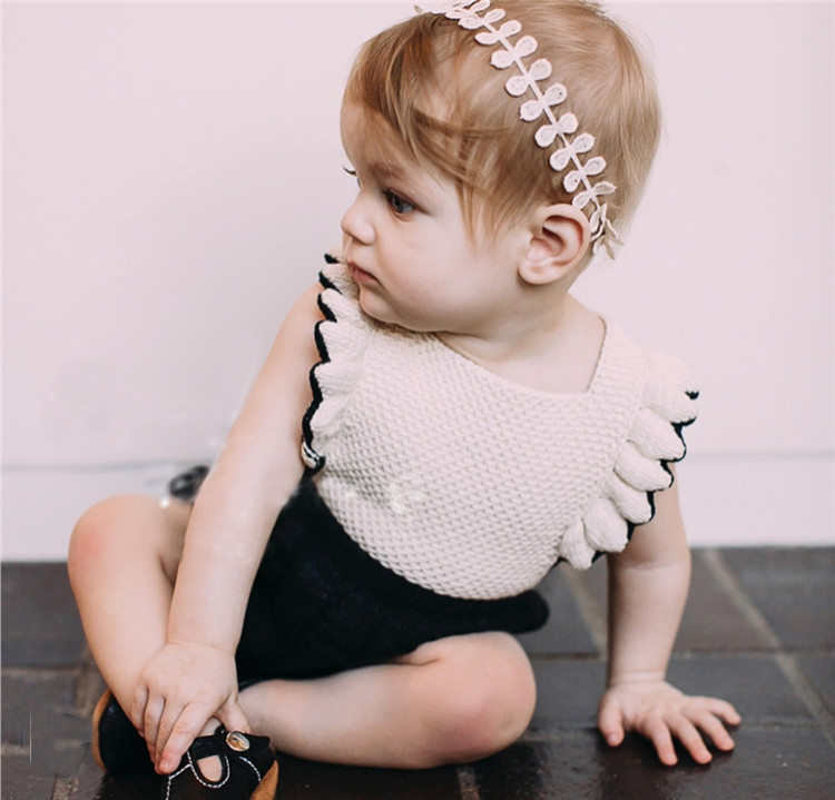 LILIGIRL Infant Toddler Girl Rompers Knitted Ruffles Cotton Baby Girl Romper For Autumn Casual Kids Princess Birthday Overalls 2017 hot fashion women bags 3d diamond shape shoulder chain lady girl messenger small crossbody satchel evening zipper hangbags