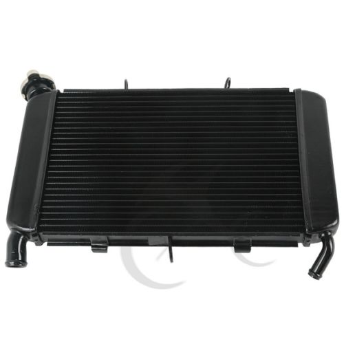 Motorcycle Aluminum Black Radiator Cooler Cooling For Yamaha XJ6 XJ 6 2009 2015 10 11 12