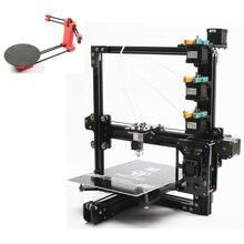 Набор распродажа, новейший HE3D EI3 трехцветный 3D принтер diy kit 3 в 1 из печати добавить открытый источник 3D сканер DIY kit
