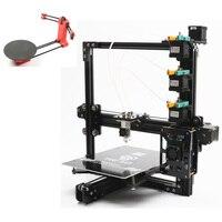 Набор Продажа, новейший HE3D EI3 триколор 3D принтер diy комплект 3 в 1 печать добавление открытый sourse 3D сканер DIY комплект