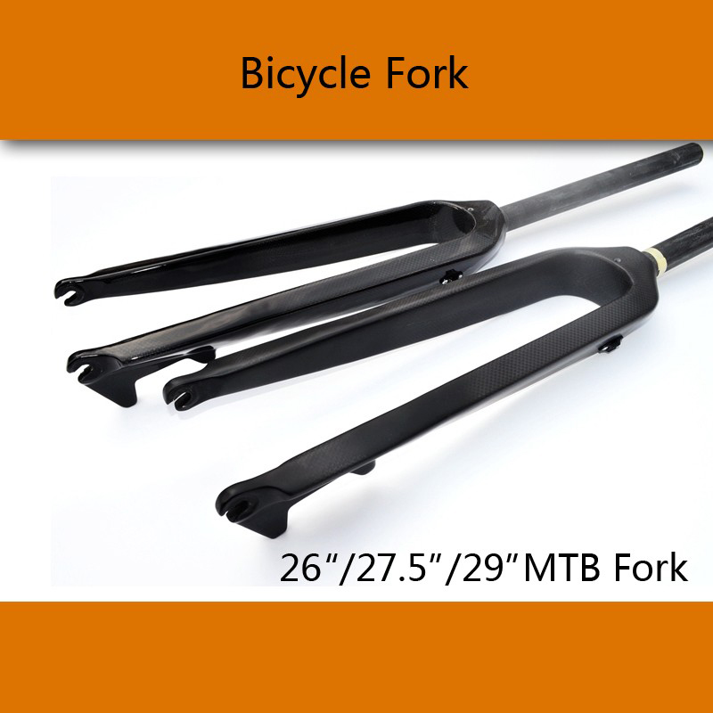 JAVA Mountain bike 3K T800 full carbon fibre hard bicycle disc brake front fork MTB 26er 27.5er 29er parts Free ship newest raceface next sl road bike ud full carbon fibre saddle spider web mountain bicycle front seat mat mtb parts free shipping