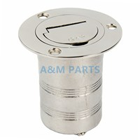 Marine Keyless Boat Fuel Gas Deck Fill Filler Stainless Steel 316 2 Gas