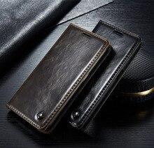 Оригинальный caseme Марка Бумажник кожаный чехол для Samsung Galaxy S6 край S7 край магнитных флип кожаный чехол для Samsung Galaxy S6