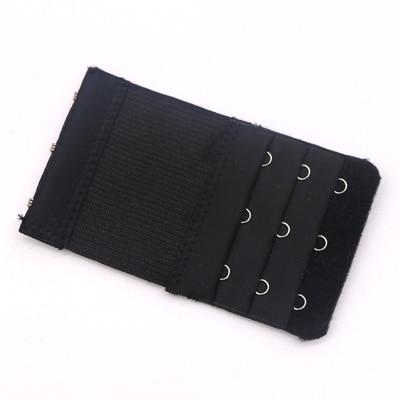 5 шт., расширители для бюстгальтера, удлинение пряжки, 3 крючка, 1, 2, 3, 4, 5 крючков, расширитель для бюстгальтера, инструмент для шитья, аксессуары для женщин - Цвет: Black 3 buckle