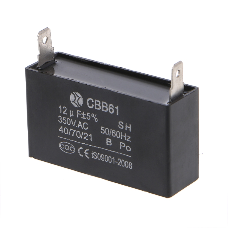 И черного цветов, на возраст 12 мкФ генератор конденсаторного типа генератор CBB61 12 мкФ 50/60Hz 350VAC вентиляторный электродвигатель