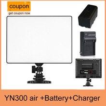 YONGNUO YN300อากาศYN-300อากาศyn 300 AIR P Ro LEDกล้องแสงวิดีโอสำหรับCanon Nikon + NP-F550แบตเตอรี่+ชาร์จ