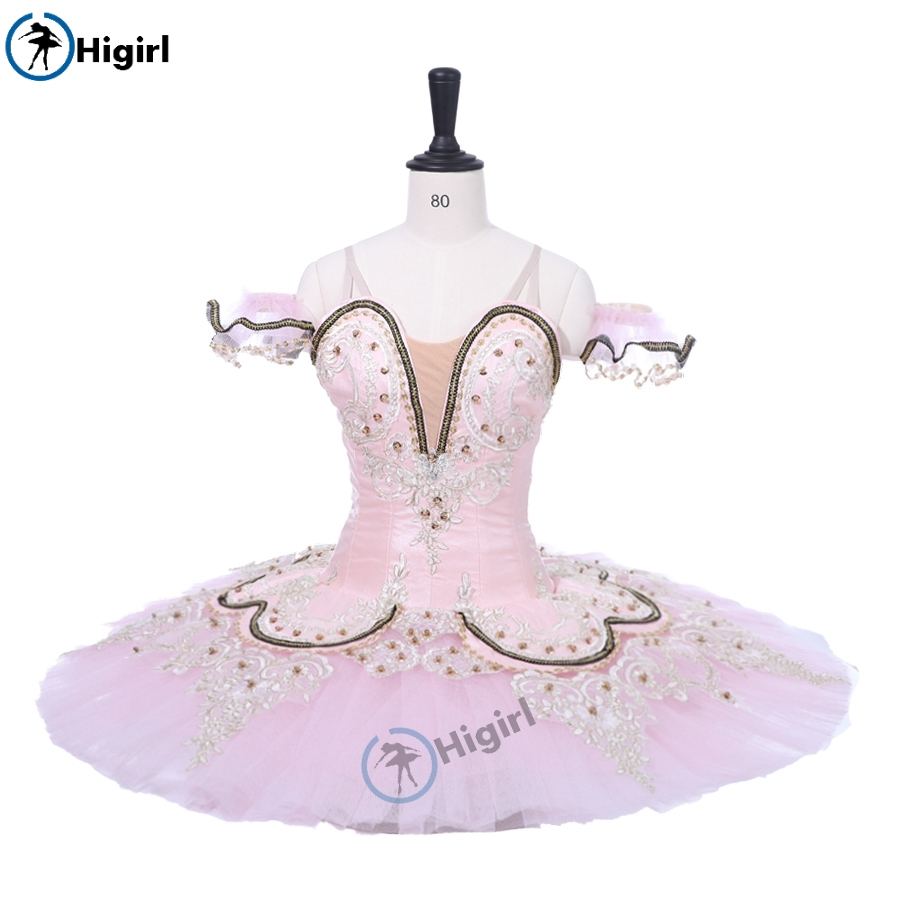 Adulte Rose Performance Tutu ballet crêpe costumes nutracker ballet tutu Fée professionnel ballet tutu rose BT9044D