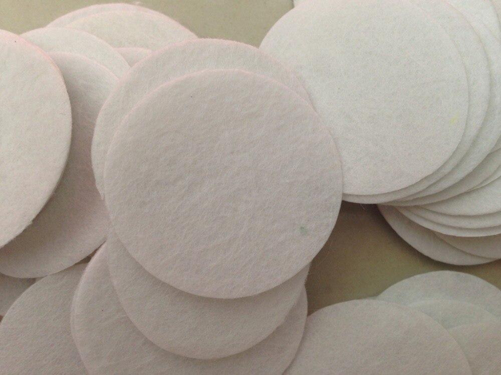 DIY 6CM Round Felt fabric pads accessory patches circle felt pads fabric flower accessories 500pcs/lot