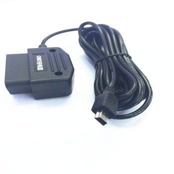 12/24V Output 5V 3A Car OBD Cigarette Adapter Lighter power box with 3.5 meters Cable For DVR GPS 24-hour parking monitoring image