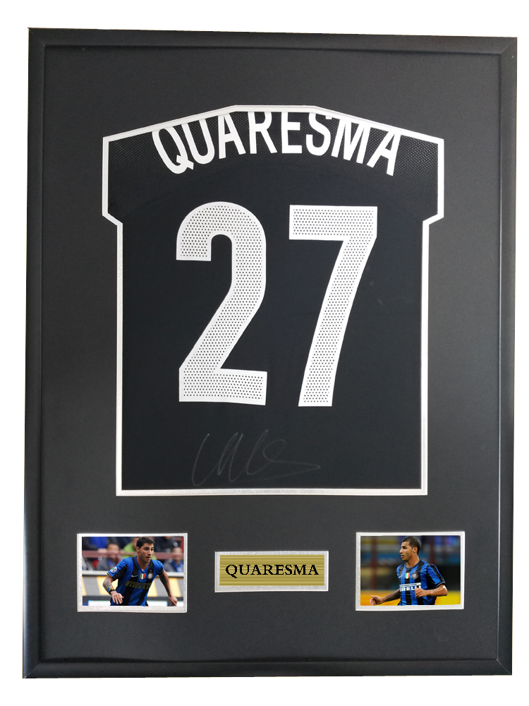 8ce976f5c719 Detail Feedback Questions about Quaresma signed autographed soccer shirt  jersey come with Sa coa framed on Aliexpress.com
