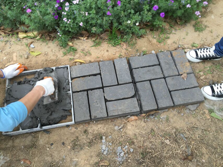 Uitzonderlijk Bestrating mal plastic path maker bestrating beton mold voor  #RV81