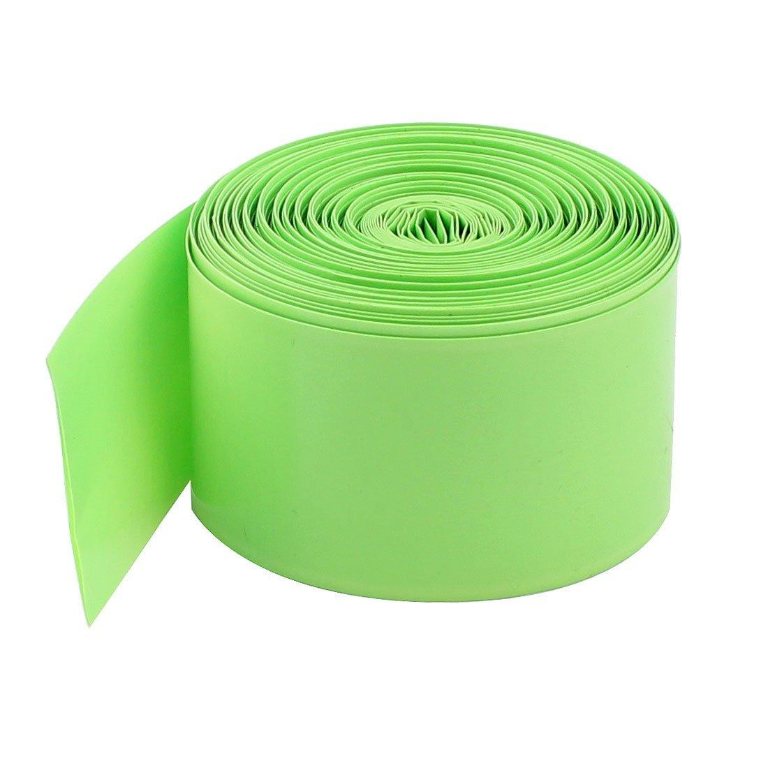 Cnim HOT 10 м 29.5 мм ПВХ термоусадочные трубки Обёрточная бумага для 1×18650 Батарея светло-зеленый