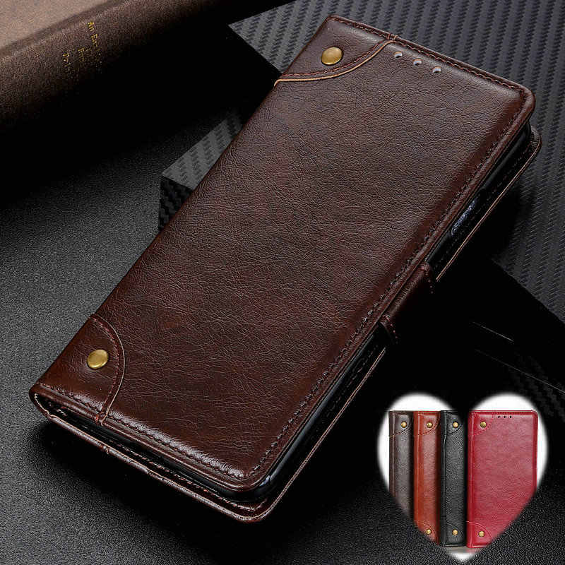 Vintage Leather Case for Xiaomi Redmi 7 7A Shockproof Business Book Flip Wallet Cover On Redmi 7 6 6A 5 Plus Pro Wallet Cases