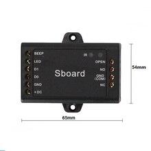Sboard мини-контроллер доступа может быть совместим с rfid-считывателем на дальние расстояния считыватель отпечатков пальцев Длинный дистанционный считыватель