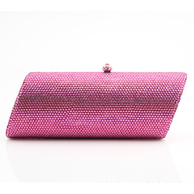 XIYUAN BRAND Fashion Party Evening Purse Women Diamond Crystal Clutch Bag Red Green Evening Bag Chain Handbag Mini Lady pochette winter fashion fur evening bag for lady handbag women day clutch small tote wristlet bag messenger bag pochette shopping bag