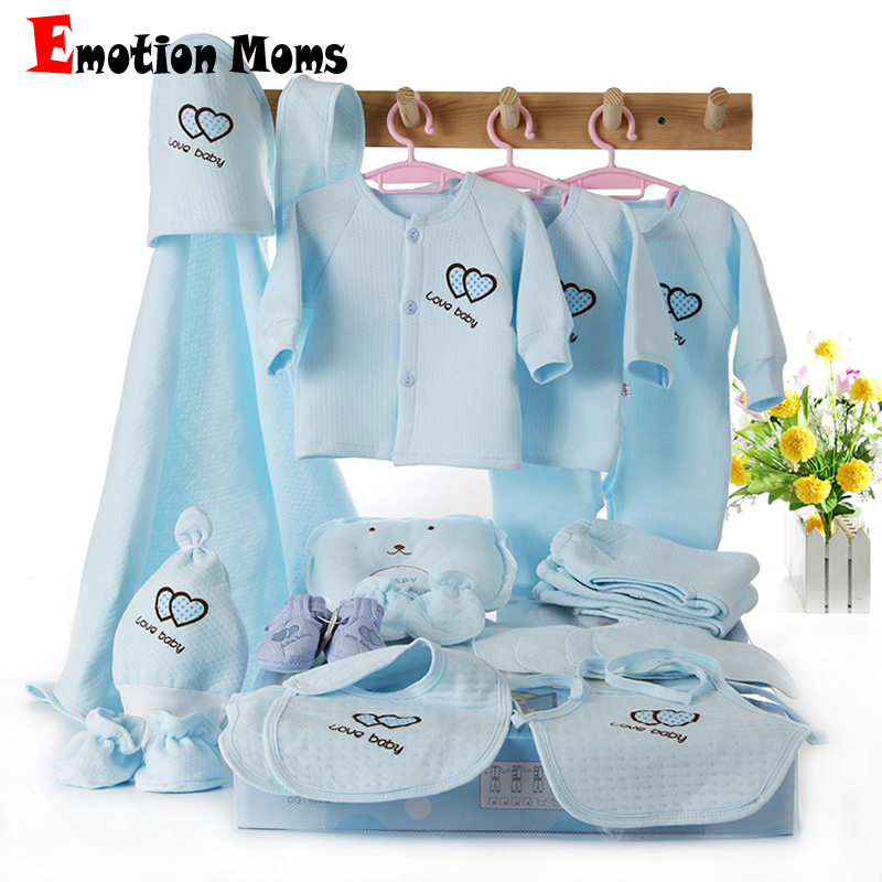 ФОТО Newborn baby girls clothes cotton 15pieces/Set 0-6months infants baby girl boys clothing set baby gift set without box