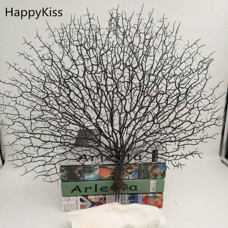 La simulation arbre de mer en plastique artisanat décoration poisson merci livraison gratuite corail ornement artificiel