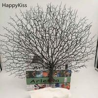 The simulation sea tree plastic craftshousehold decoration fish thank freeshipping Coral Ornamento Artificial