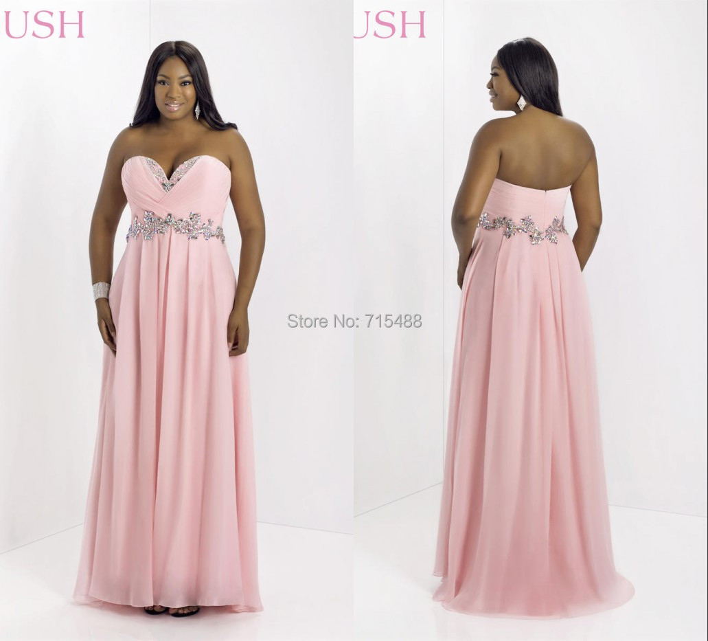 2014 Blush Pink Sleeveless Beaded Puffy Long Indian Fairy Maternity ...