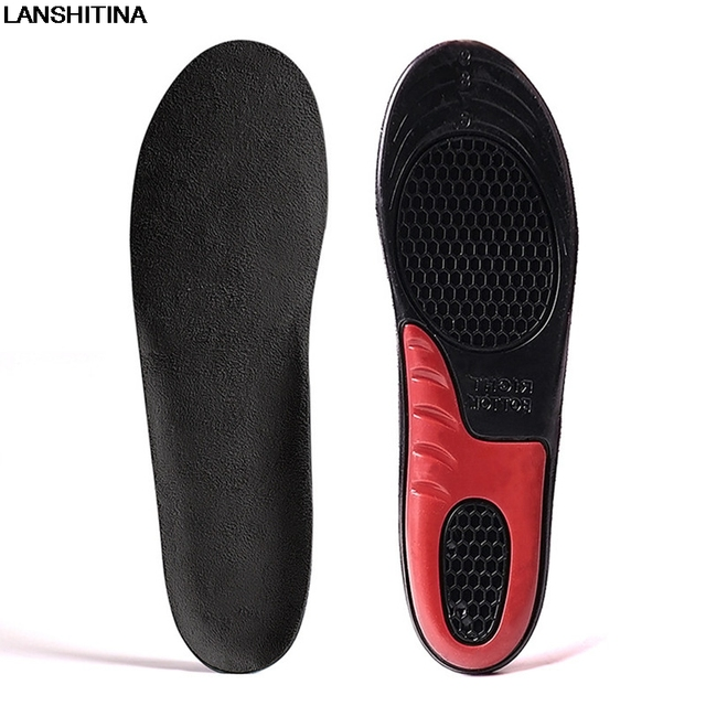 Soft Silicone Insole Sweat Breathable Deodorant Damping Running Sports Insoles Air Cushion Accessoire Chaussure Shoe Pad Inserts