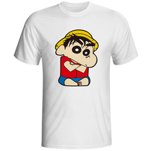Crayon Shinchan Shin Chan T-shirt Style Design Punk T Shirt Fashion Print Rock Women Men Top