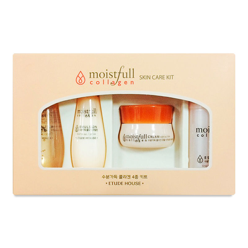 Moistfull Collagen Skin Care Kit - 4 Kinds Sample