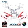 Akaso X5C Rc Нло Quadcopter Дрон с Камерой Hd Дистанционного Управления Бпла Drone Профессиональный вертолет