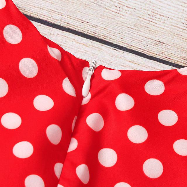 Polka dot princess dress