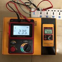 AR907+ 50V 1000v Digital Insulation Resistance Tester Meter Voltage meter Megger Testing Meter Multimeter