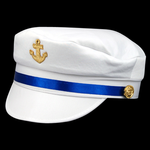 2016 Hot Style Unisex White Sexy Sailor Hat Navy Anchors Cap Shipmate Costume Hen Night Fancy