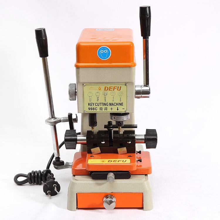 Popular Car Key Maker Machine Buy Cheap Car Key Maker: Defu Brand 998c Model Key Cutting Machine Cutter Keys
