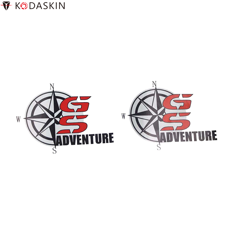 KODASKIN Film Motorcycle Stickers Logos Carbon Black for