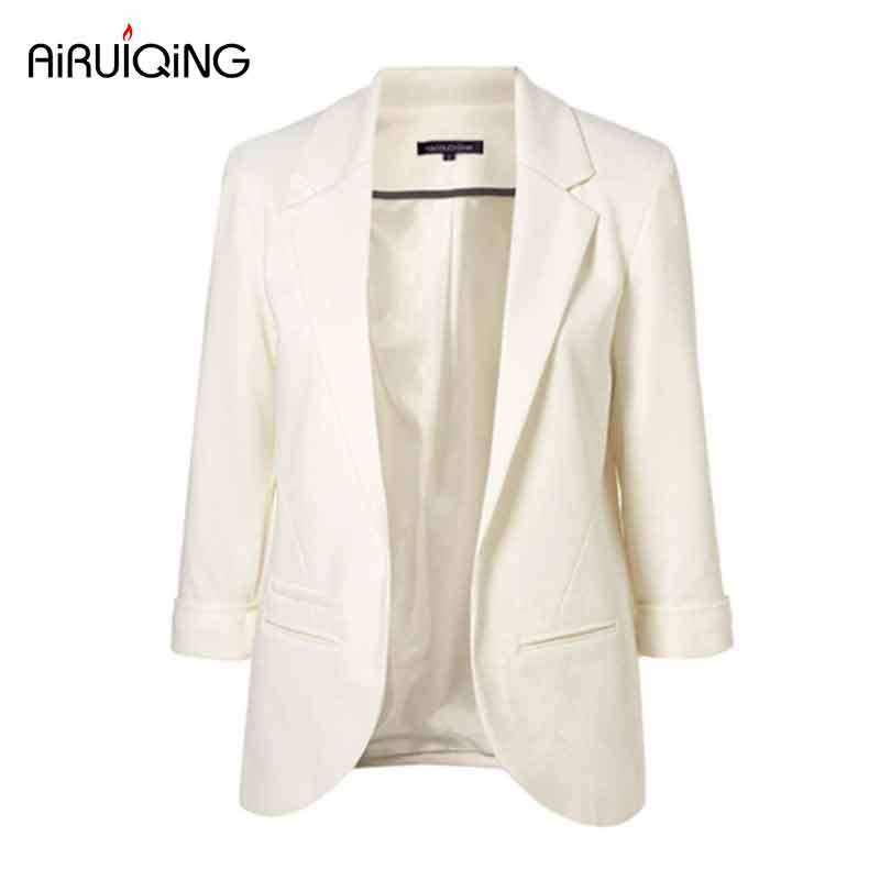 2017 Spring Fashion font b Women b font 9 Colors Slim Fit Blazer font b Jackets