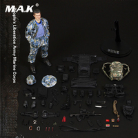 For Collection 1/6 FLAGSET FS 73011 People's Liberation Army Marine Corps Figure Model Toy full set with the figure body