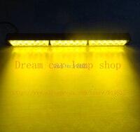 18 LED High Power Strobe Light Fireman Flashing Police Emergency Warning Fire Flash Car Truck Yellow