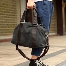 2017 Men's Fashion Canvas Bag Single Shoulder Bag Canvas Messenger Bag Travel Bag