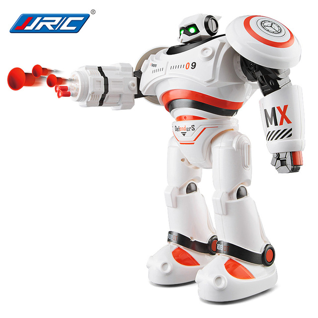 JJRC R1 RC Robot Programmable Defender Intelligent Remote Control Toy Walking Dancing RC Robots for Kids Birthday Gifts Present
