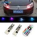 16 Colors RGB T10 W5W Clearance Light for VW Polo Beetle Touareg Passat B7 B5 B6 CC Jetta Golf 4 5 7 6 Touran Bora Tiguan Eos
