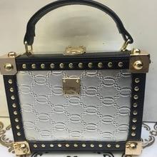 Luxus frauen Handtasche Silber Mode Metall Kupplung Damentaschen Umhängetasche Fashion Party Tasche