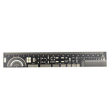 Mutifunctional PCB Ruler PCB engineering ruler PCB package unit Electronic Engineer required protractors