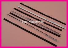 20PCS 5mm*18.0cm Adhesive Black Rubber Two Rows Headband Teeth, Lined Headbands Self-stick Rubber Hairband Comb Teeth Korea Item