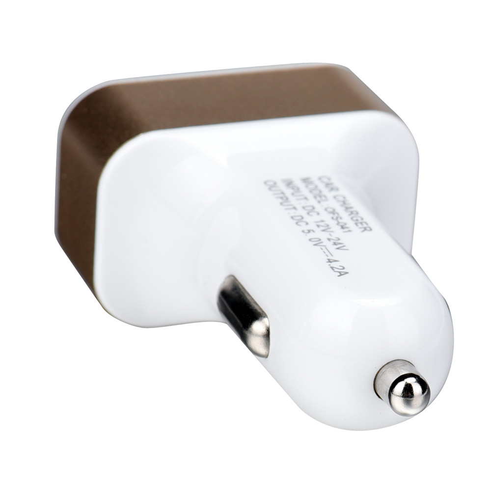 Charger 1PC Universal 4 Port USB DC Car Charger Adaptor Charging jul12fm transmitter bluetooth OCT31