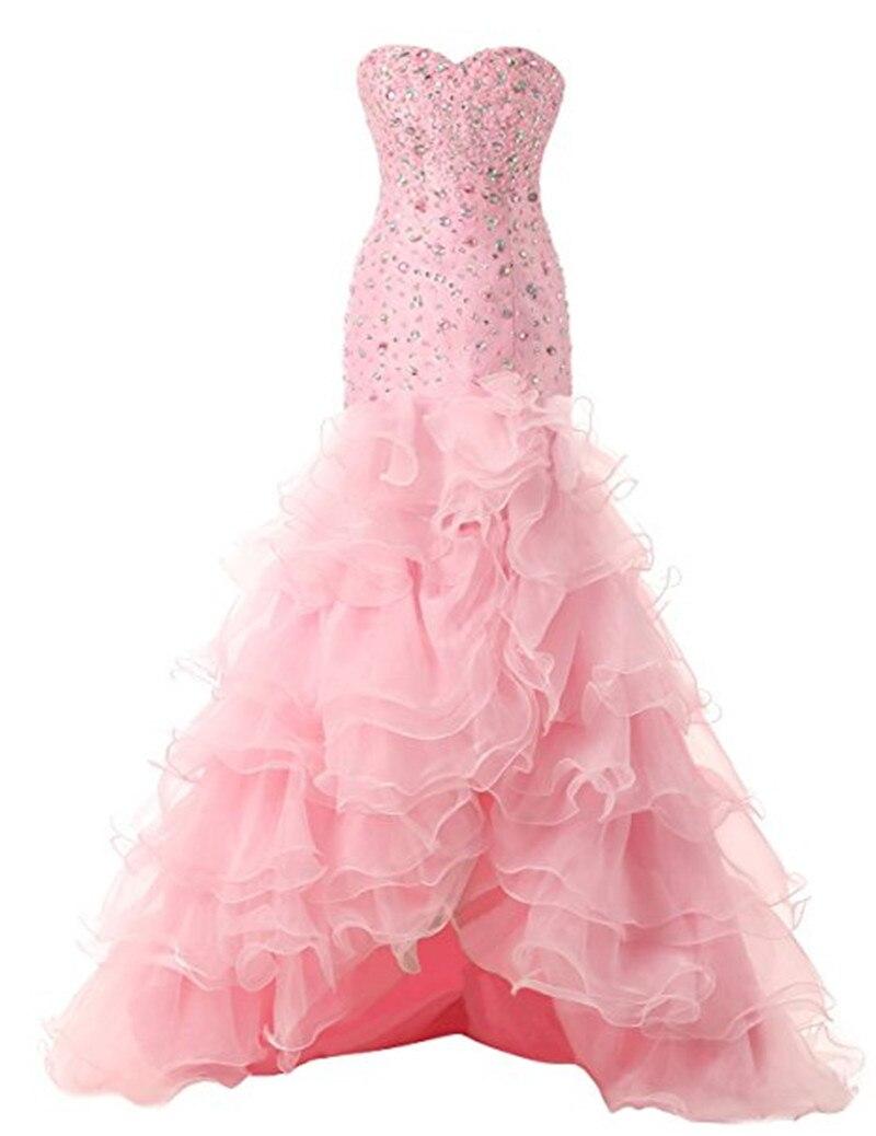 Gardlilac Tulle rebordear Hi-Low Vestido de fiesta Sweetheart Vestido - Vestidos para ocasiones especiales
