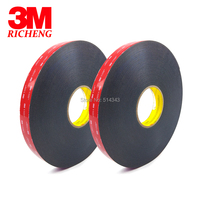 3M VHB 5925 Double Sided Adhesive Waterproof Acrylic Foam Tape 10MM*33M 1ROLL/LOt