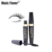 360 Rotating Brush Mascara Music Flower Sexy Eyes Makeup Mascara Volume Curl Thick Eyelashes Smudge-proof 24H Long Lasting Rimel цены онлайн