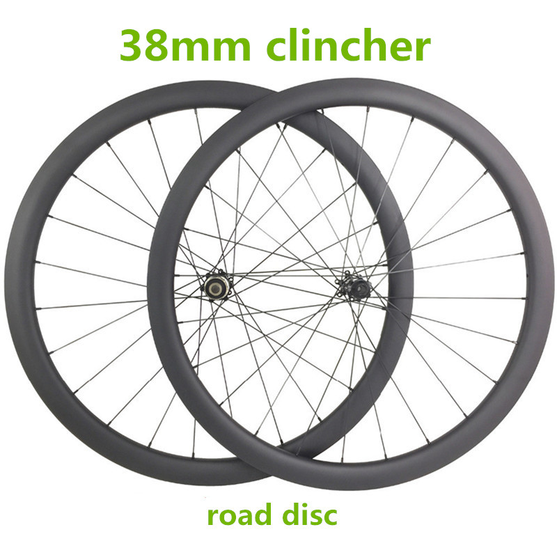 Roues 700c 38mm pneu 25mm largeur 1470g 24 28 H disque de roue 411 412 100x15 142x12mm vélo de route de roues