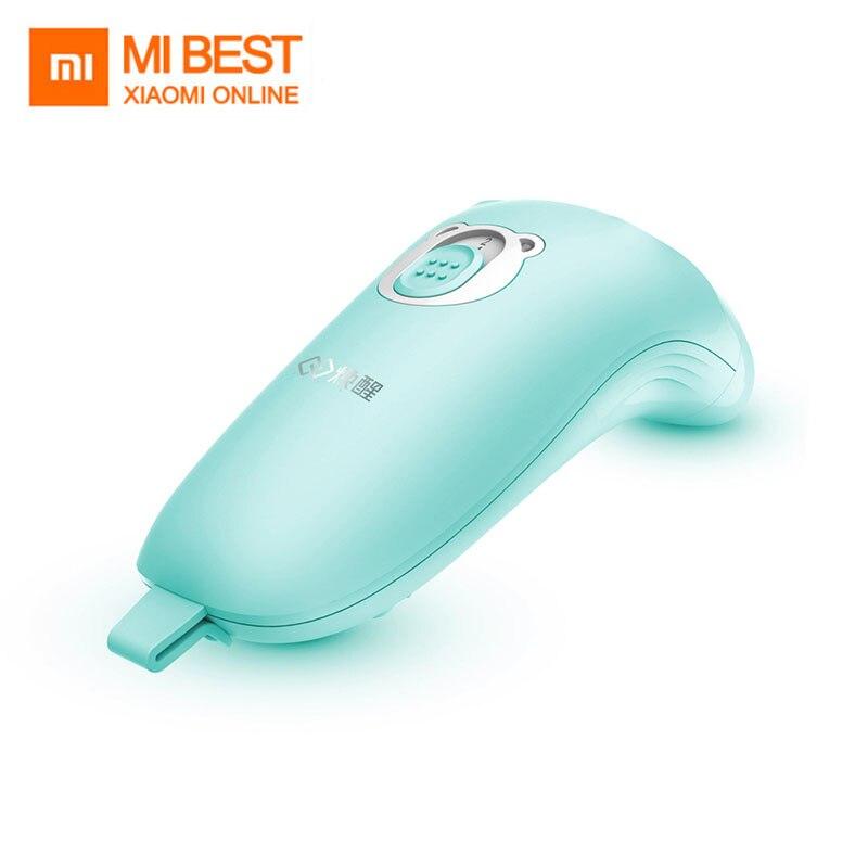 Nouveauté Xiaomi Huanxin bébé électrique coupe-ongles tondeuse soin sûr faible bruit matériel de qualité alimentaire