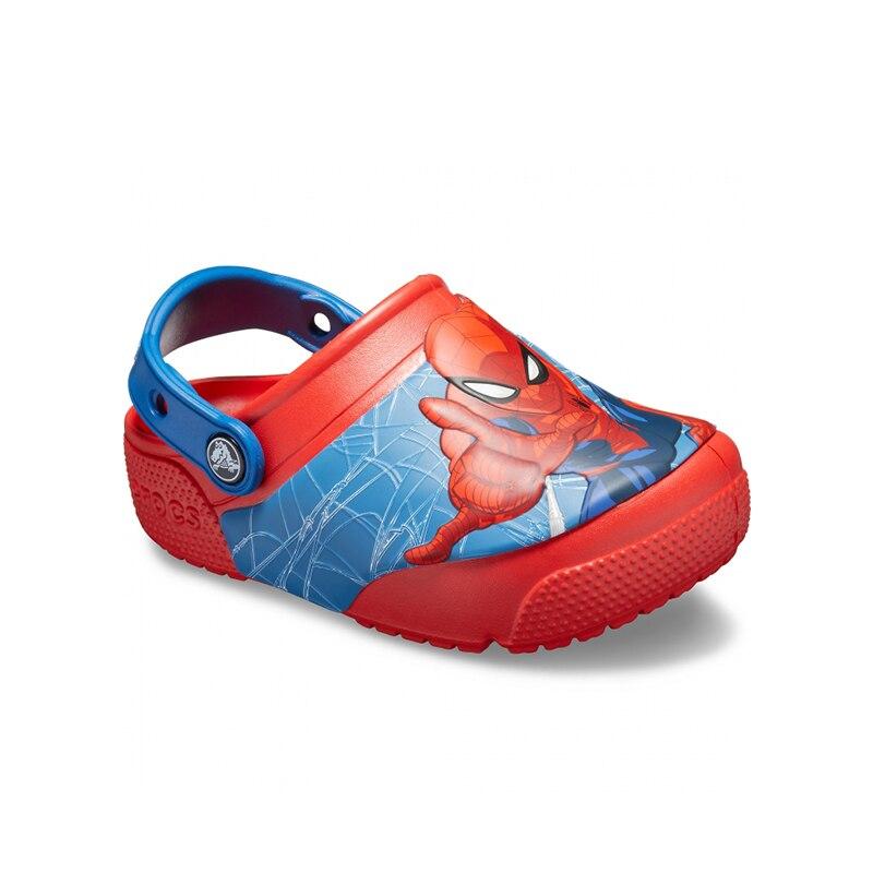 CROCS CrocsFL Spiderman LTS CLG K KIDS or boys/for girls, children, kids TmallFS