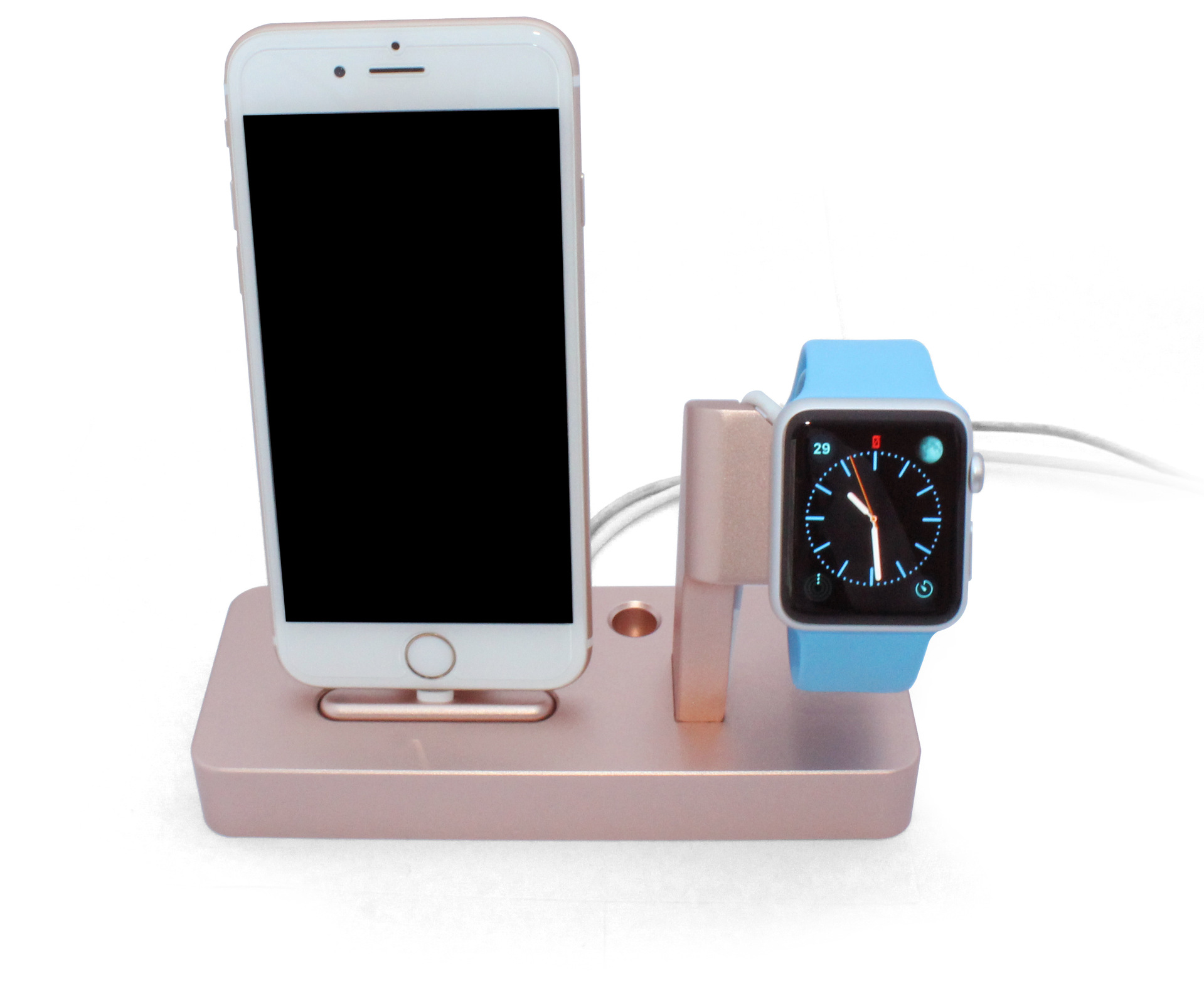 Multi Function Aluminium Le Watch Stand Holder Charging Dock Charger Station For Iphone 6 6p Oem Odm Service In Jewelry Packaging Display From