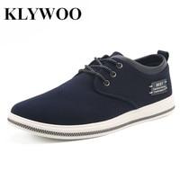 KLYWOO Big Size 39 47 Breathable Mens Casual Shoes Autumn Fashion Boat Shoes Men Krasovki Comfortable